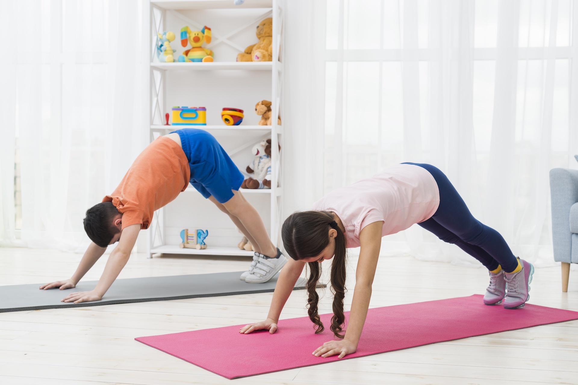 Yoga Para Niños y Niñas (4-12 Años)